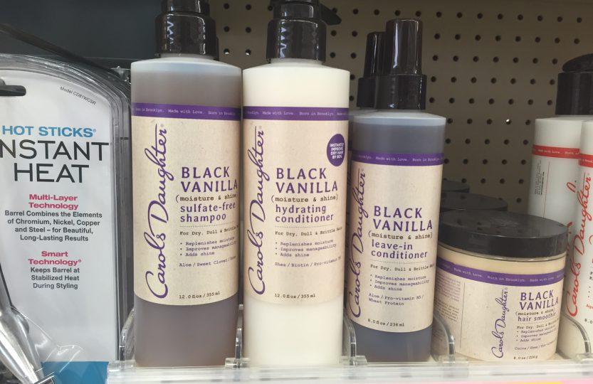 Carols daughter black van shamp and cond