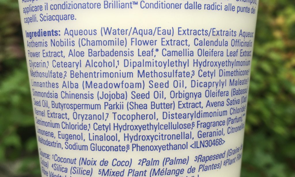 aveda-brilliant-conditioner-ingredients