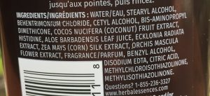 Herbal Essences Coconut Milk Conditioner Ingredients