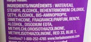 Herbal Essences Hydralicious Conditioner Ingredients